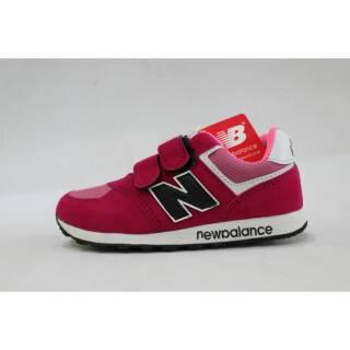 ... Perempuan Sepatu New Balance Anak Pink Grade Original. suka  0 8555b97301