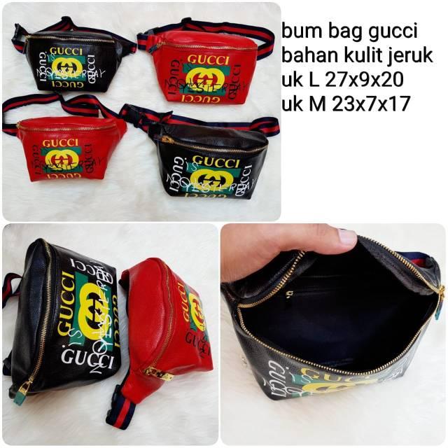 Tas pinggang Gucci 915  523de3675a