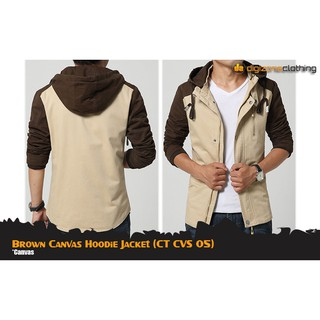 d1b1b3263 DJ110 - Roughneck Tortilla Brown Canvas Jacket (X) | Shopee Indonesia