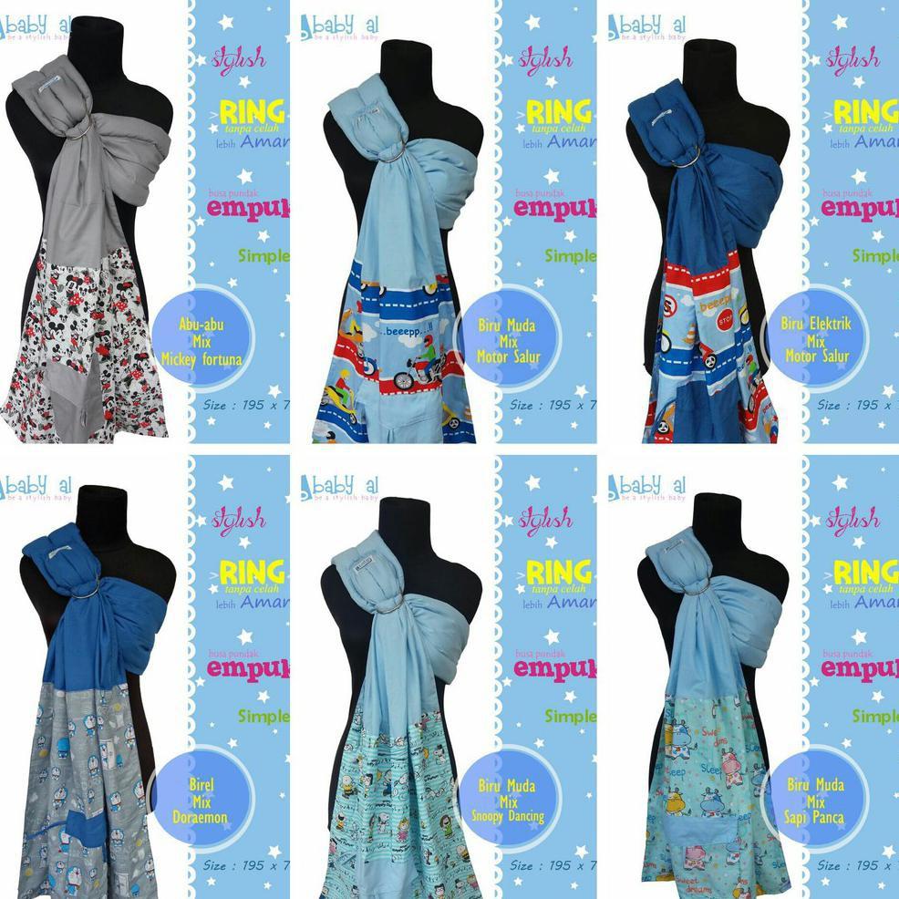 BABY AL RING SLING | RINGSLING (GENDONGAN BAYI) FULL MOTIF | Shopee Indonesia