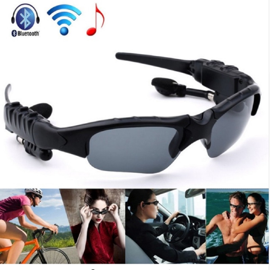 * Kacamata Sunglasses Bluetooth Headset untuk iPhone Bluetooth Headset Sunglasses | Shopee Indonesia