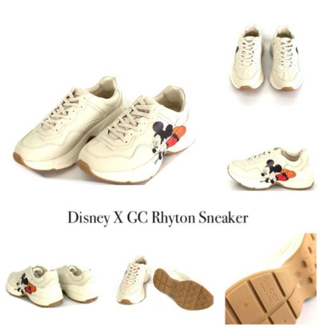 Disney X Gucci Rhyton Sneaker Shopee Indonesia