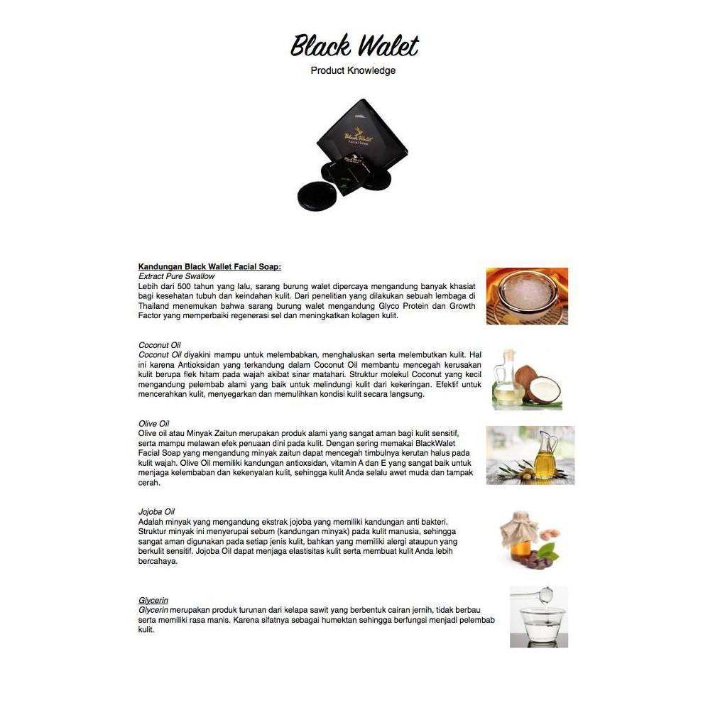 Black Walet Soap PD TORA - Sabun Walet - Sabun Bebas Jerawat - Sabun Pencerah Wajah