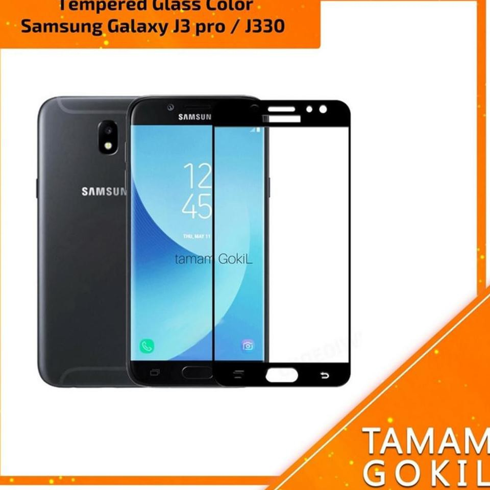 Samsung J5 2015 Tempered Glass 3D Full Color Full Cover | Shopee Indonesia