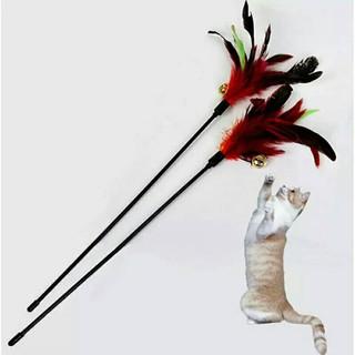 Mainan Tongkat Kucing Bulu Lonceng Cat Toy Shopee Indonesia