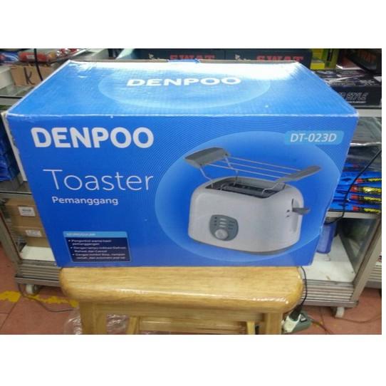 DENPOO DT-023D SANDWICH TOASTER PEMANGGANG ROTI 500 WATT | Shopee Indonesia