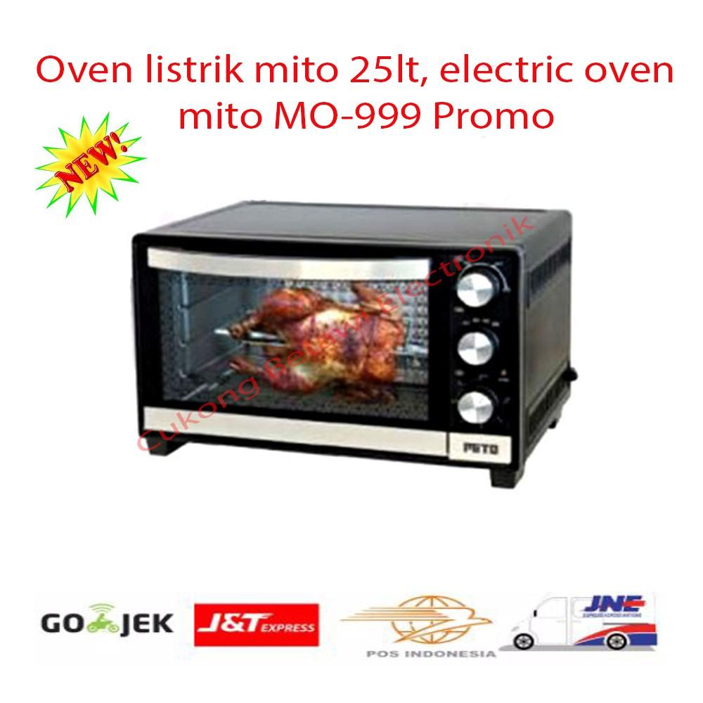 Diskon Hot Mito Electric Oven 19 Liter Mo 666 Garansi 100 Bos Kirin Elektrik Kbo190raw L Shopee Indonesia