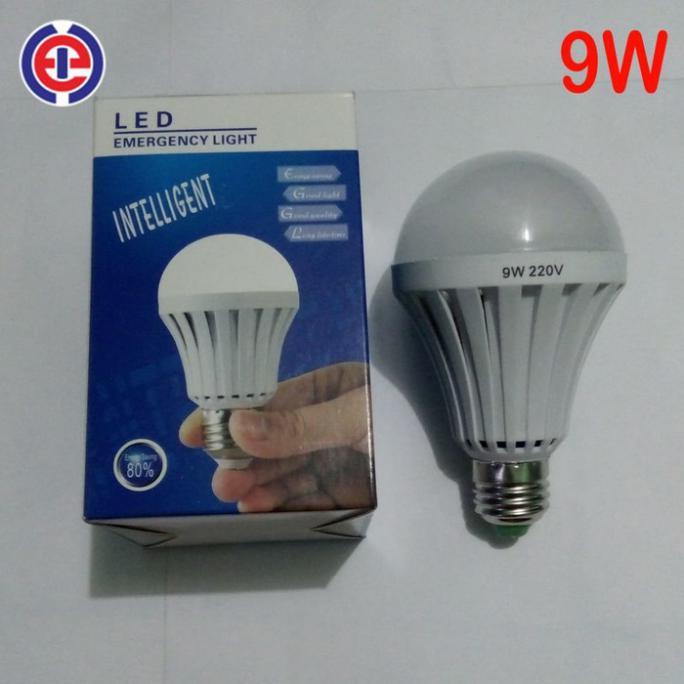 DISKON - LAMPU LED / LAMPU BOHLAM LED HILED 9 WATT BULB NATURAL WHITE FL128909 | Shopee Indonesia