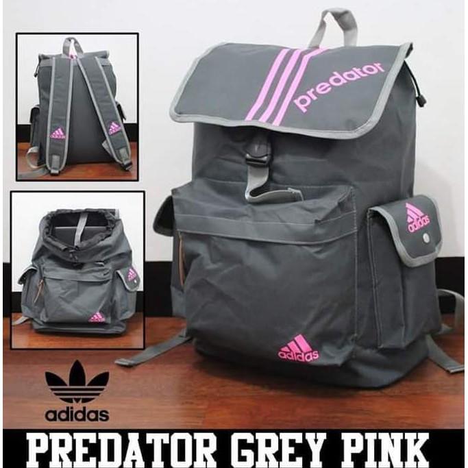 d4a0209fc55 Tas Adidas Predator - Navy Orange | Shopee Indonesia