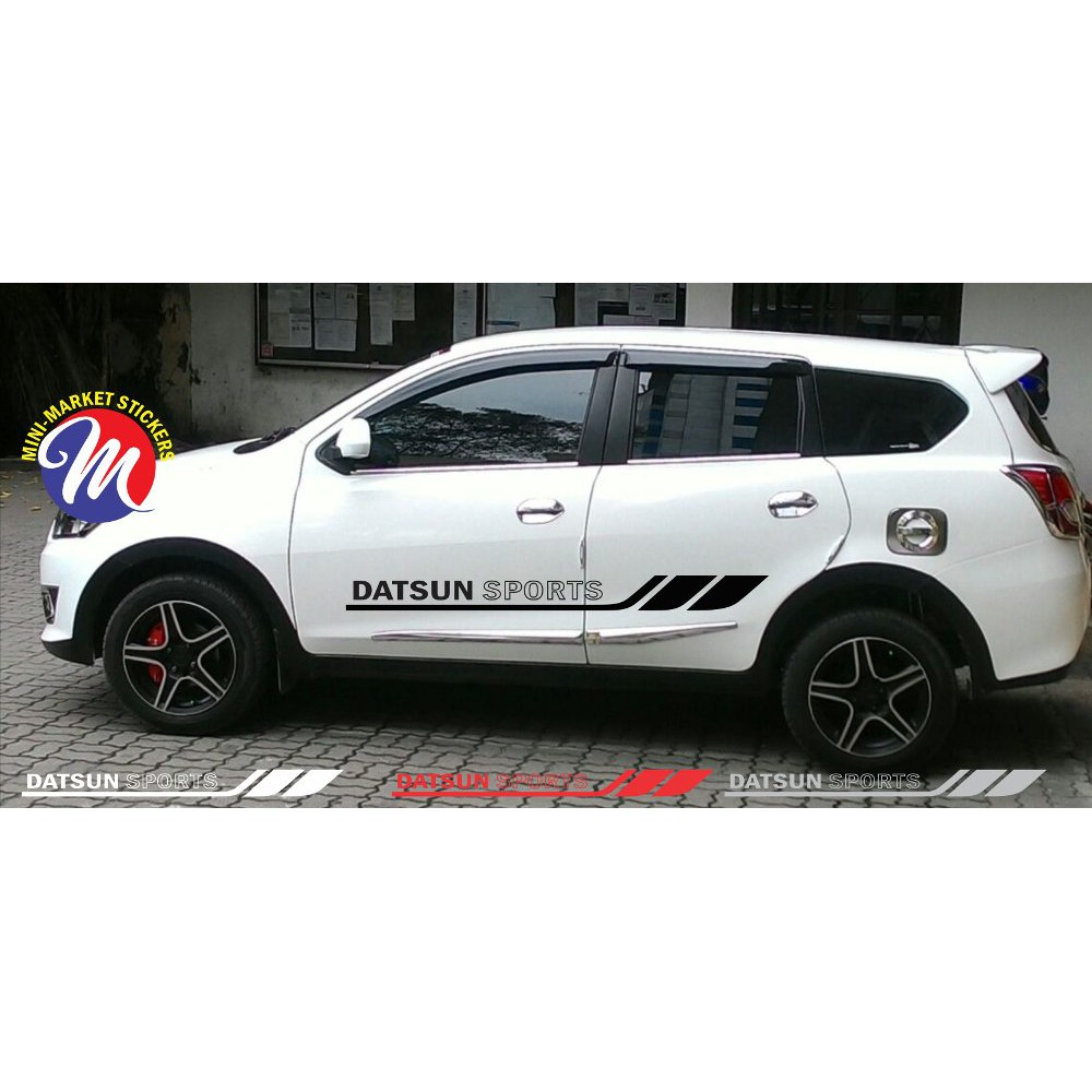 Sticker stiker list stripe datsun sports sticker mobil datsun go panca shopee indonesia