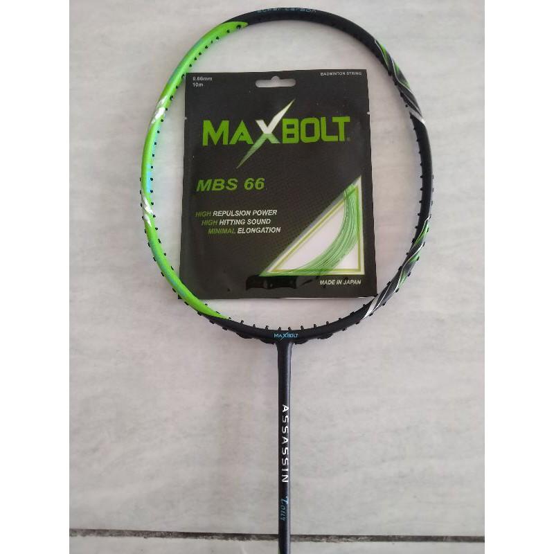 Raket maxbolt assasin tour black green ORIGINAL 100%