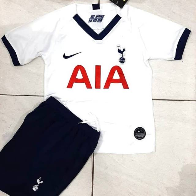 Jersey Bola Kids Anak Tottenham Hotspurs Home 2019 2020 Grade Ori Shopee Indonesia