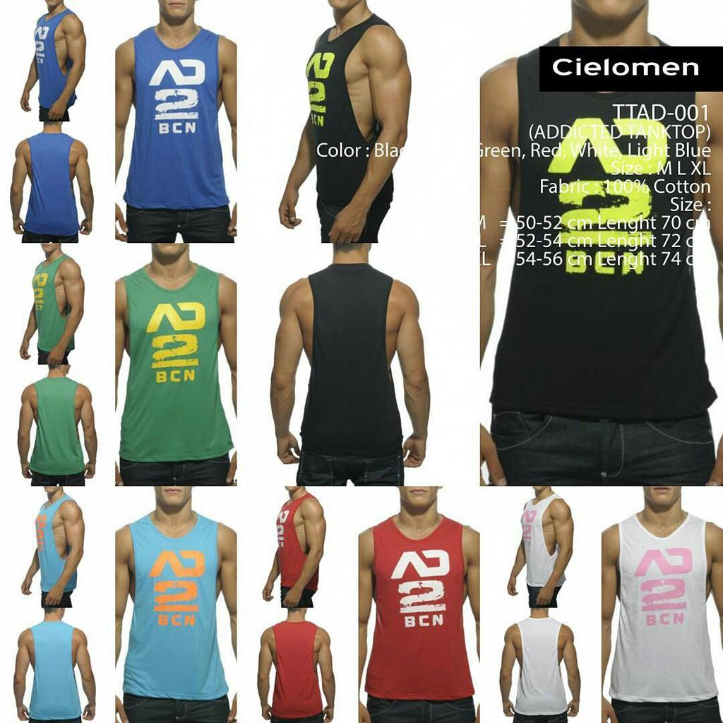 Singlet Gym Temukan Harga Dan Penawaran Pakaian Dalam Online Lekbong Kaos Baju Fitness Fitnes Underarmour Under Armour Terbaik Pria November 2018 Shopee Indonesia