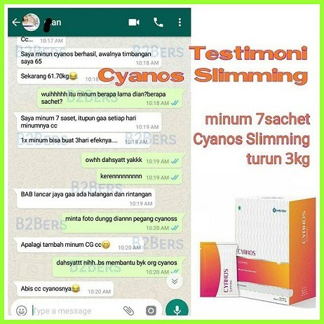 cyanos slimming review