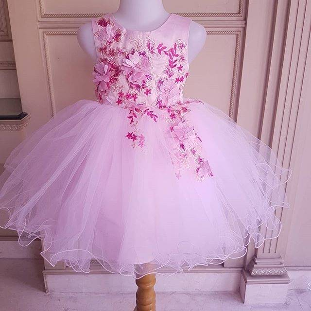 GA2550 PREMIUM LOUISE DRESS WHITE /gaun pesta baptis anak perempuan tutu putih wedding birthday   Shopee Indonesia