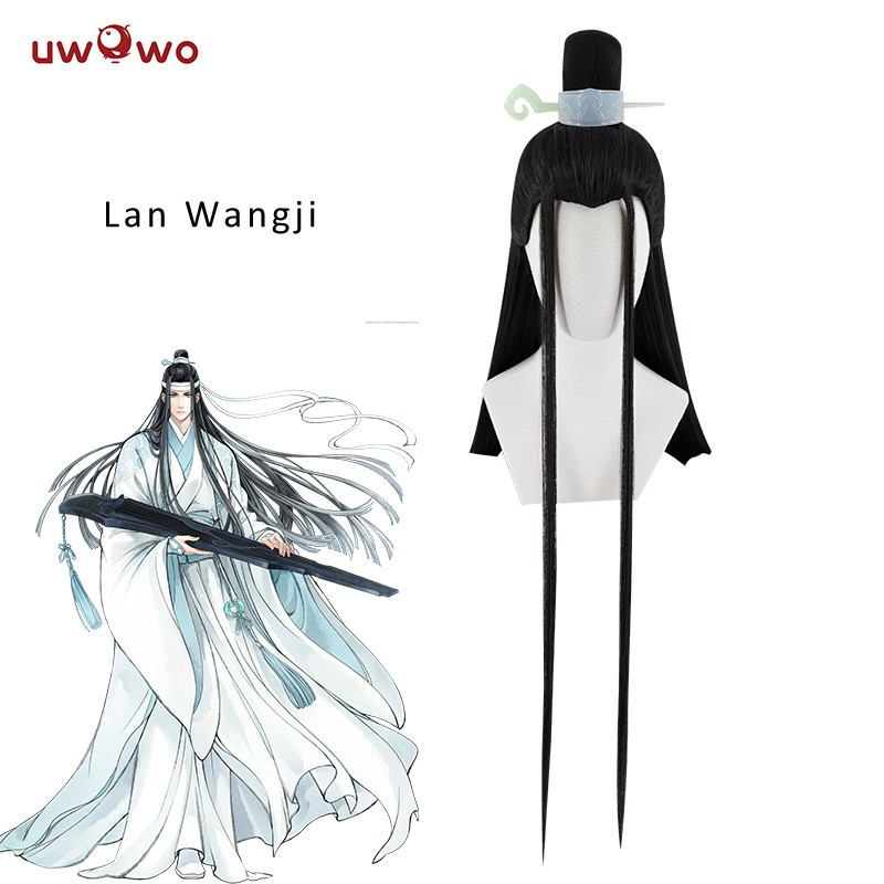 UWOWO Grandmaster of Demonic Cultivation Wei wuxian Cosplay Wigs Accessories