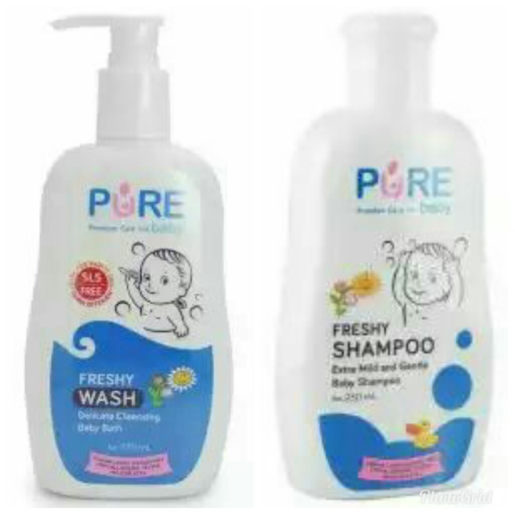 Paket Hemat Pure Baby Wash Dan Shampoo 230ml All Varian Pbc022 023 Minyak Telon Plus My Longer Protection 60ml 3pcs Mtk040 Shopee Indonesia