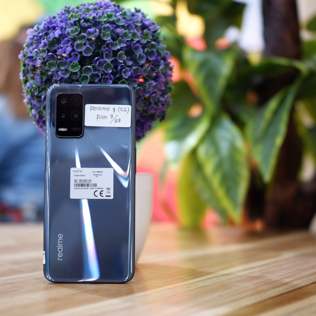 Realme 8 (5G) Ram 8/128 Full set-Hp Second Bekas