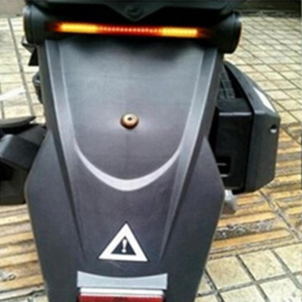 Lampu Sinyal Belok    Rem Belakang Sepeda Motor Fleksibel