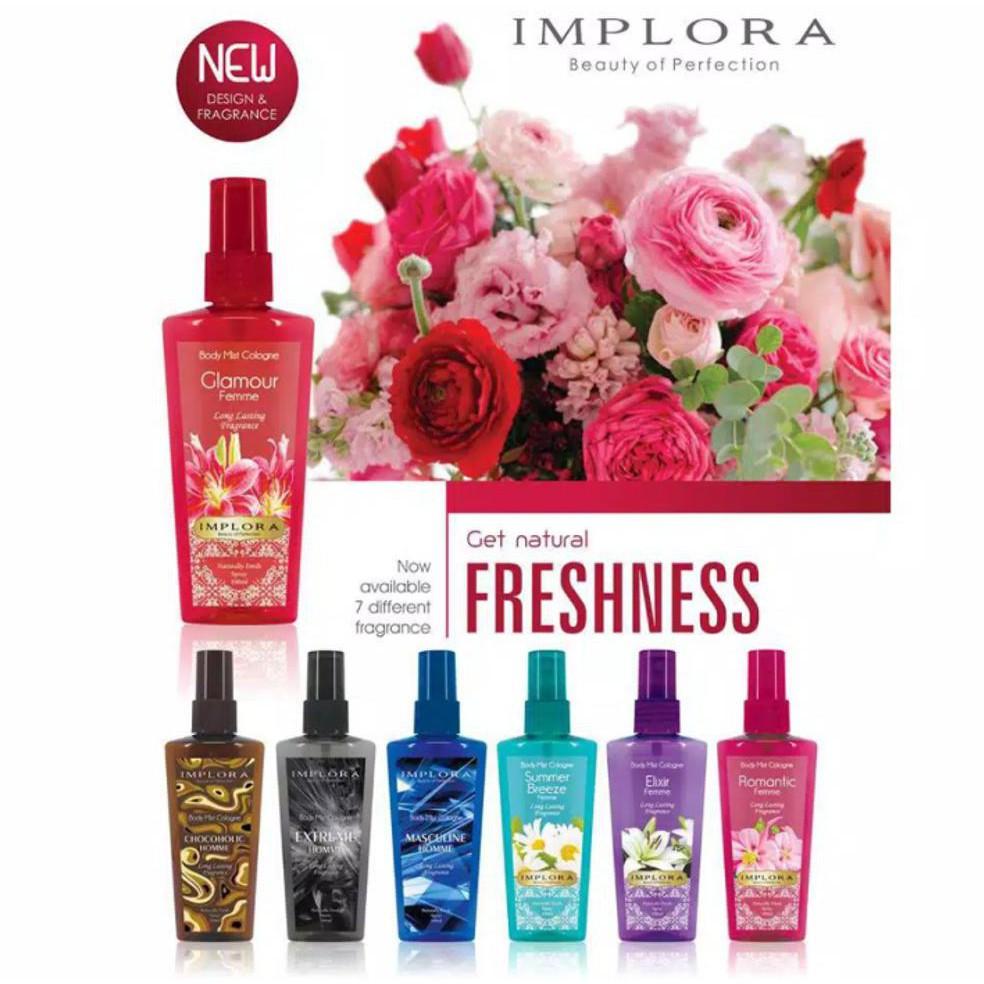 Mazaya Cologne Shopee Indonesia Mustika Putri Body Spray Parfum Aroma Flower Bouquet 100 Ml