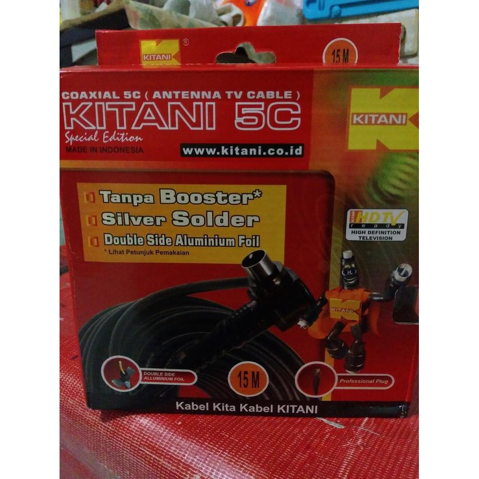 EELIC CSA-8840EL9 MIX PENGUAT SINYAL 40dB CATV 1INPUT 4OUTPUT BOOSTER 2Watt TV+KAA-15M KABEL ANTENA | Shopee Indonesia