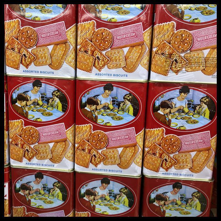 Spesial Promo Khong Guang Biscuit Kaleng 1600gr Biskuit Kongguan Khongguan Besar Shopee Indonesia