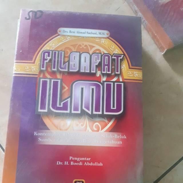 Buku Filsafat Ilmu Kontemplaai Filosofis Tentang Seluk Beluk Sumber Dan Tujuan Ilmu Pengetahuan Shopee Indonesia