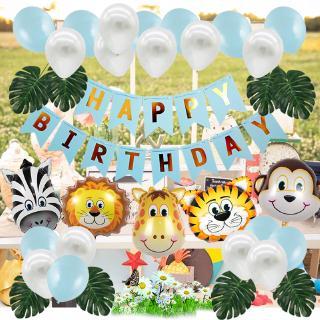 29+ baru dekorasi ulang tahun tema jungle, ulang tahun