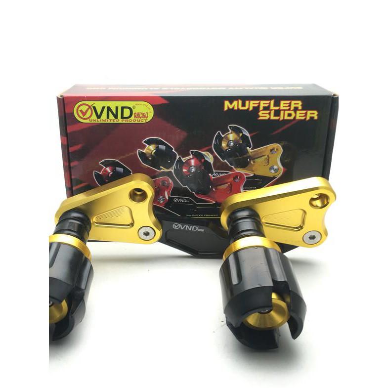 (PROMO) Jalu Slider Pelindung Knalpot Yamaha Nmax Aerox Merk VND , | Shopee Indonesia