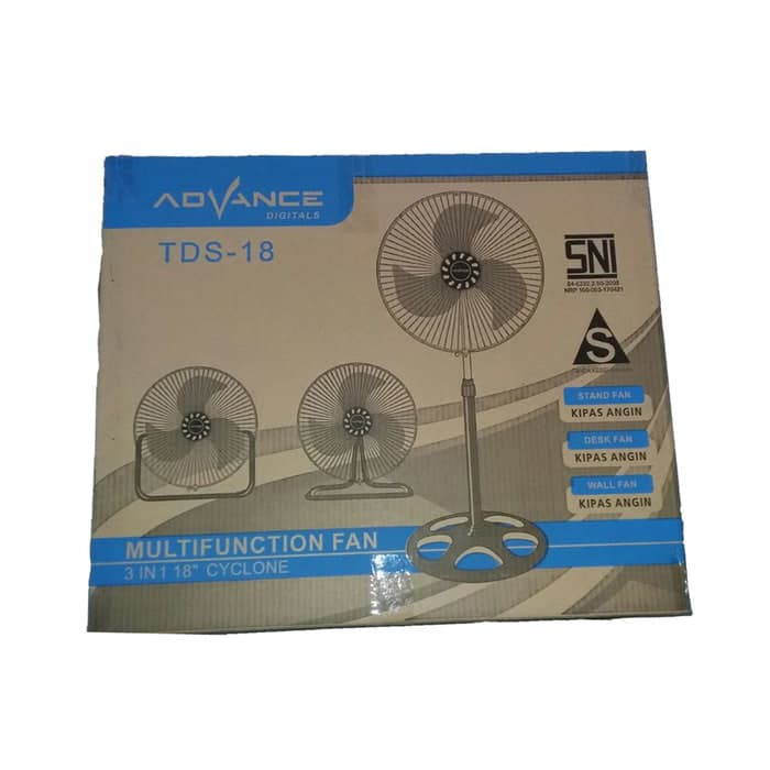 PROMO Advance TDS 18 kipas angin multifungsi 3 in 1 tornado fan tds18 | Shopee Indonesia