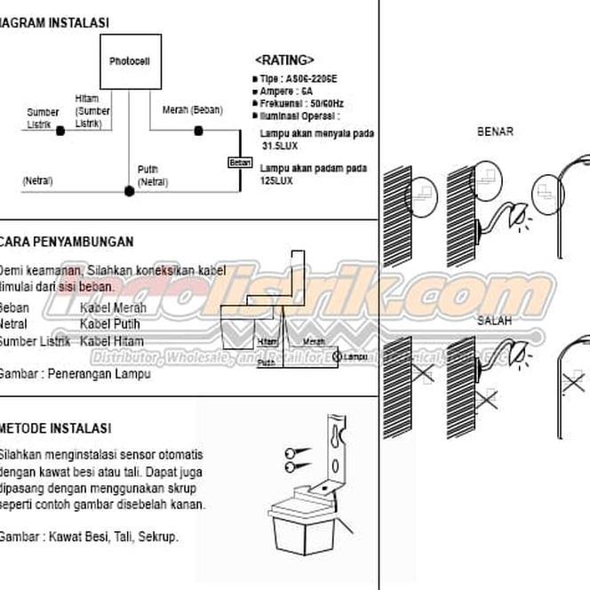 Fitting Lampu Otomatis Sensor Cahaya Siang dan Malam ,, | Shopee Indonesia