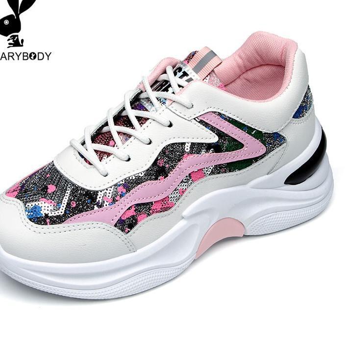 Best Seller Cod Sepatu Olahraga Wanita Terbaru 2020 Warna