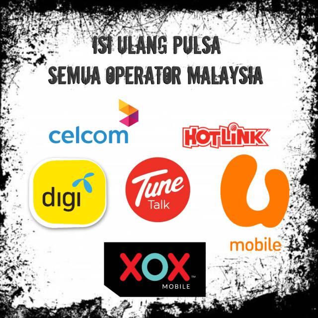 Termurah Topup Reload Pulsa Malaysia Rm 5 Rm 10 Shopee Indonesia