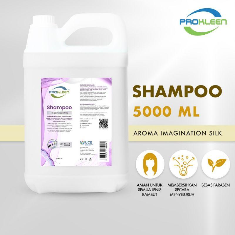 Shampoo Rambut PREMIUM PROKLEEN Hair Shampoo 5L Berat Sesuai