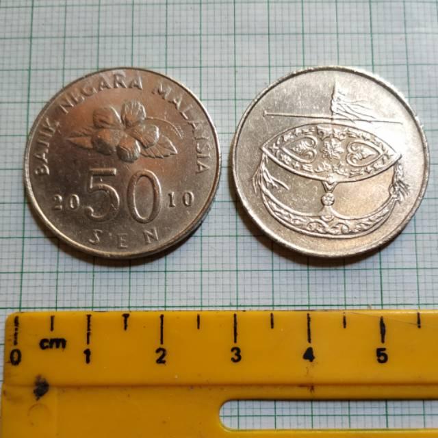 Koin Negara Malaysia 50 sen