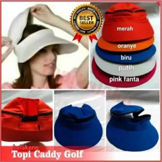 Topi Caddy Golf Topi olahraga I Topi Senam I Topi pantai I Topi zumba I Topi 84ef427662