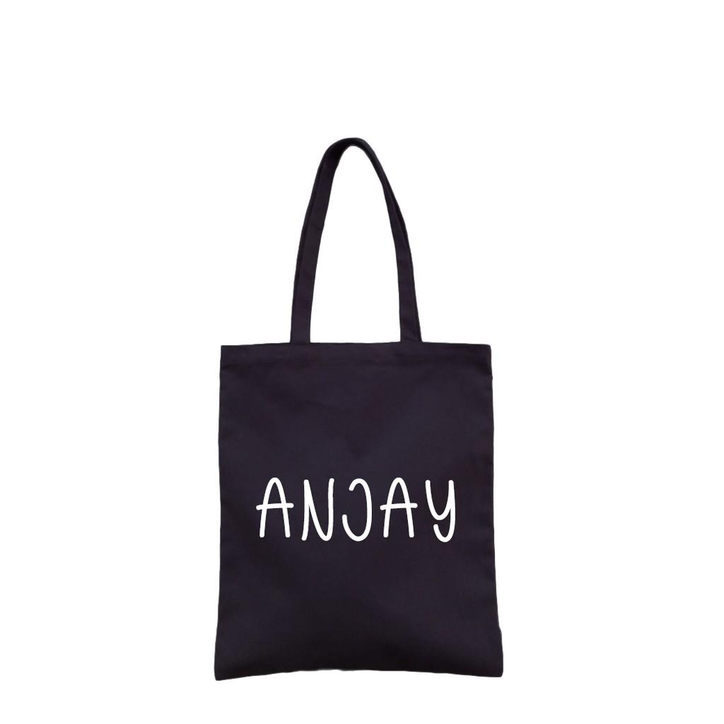 Anjay Tote Bag Tote Bag Wanita Tote Bag Aesthetic Tote Bag