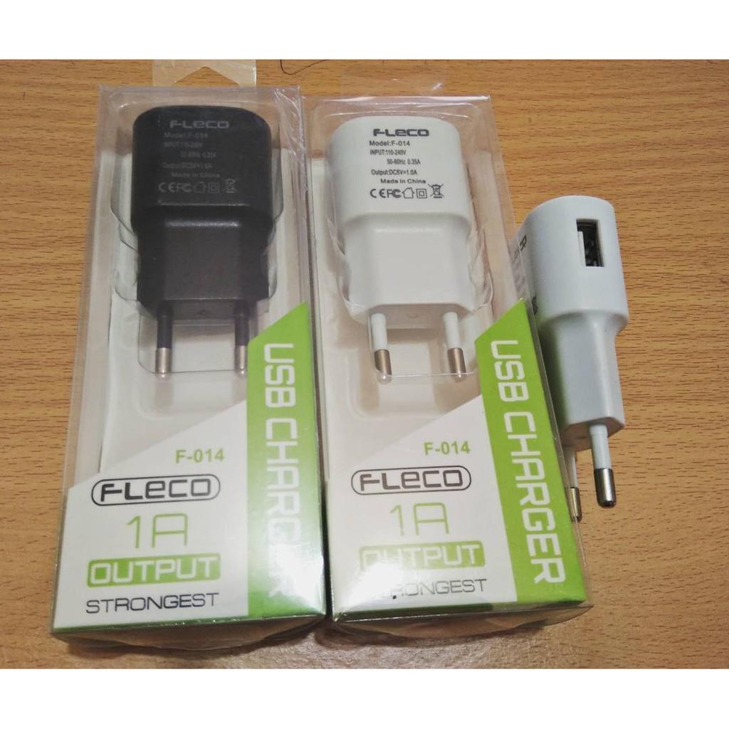 ADAPTOR FLECO FAST CHARGING QUALCOMM2.0 BONUS= RUBBER MICRO USB   Shopee Indonesia
