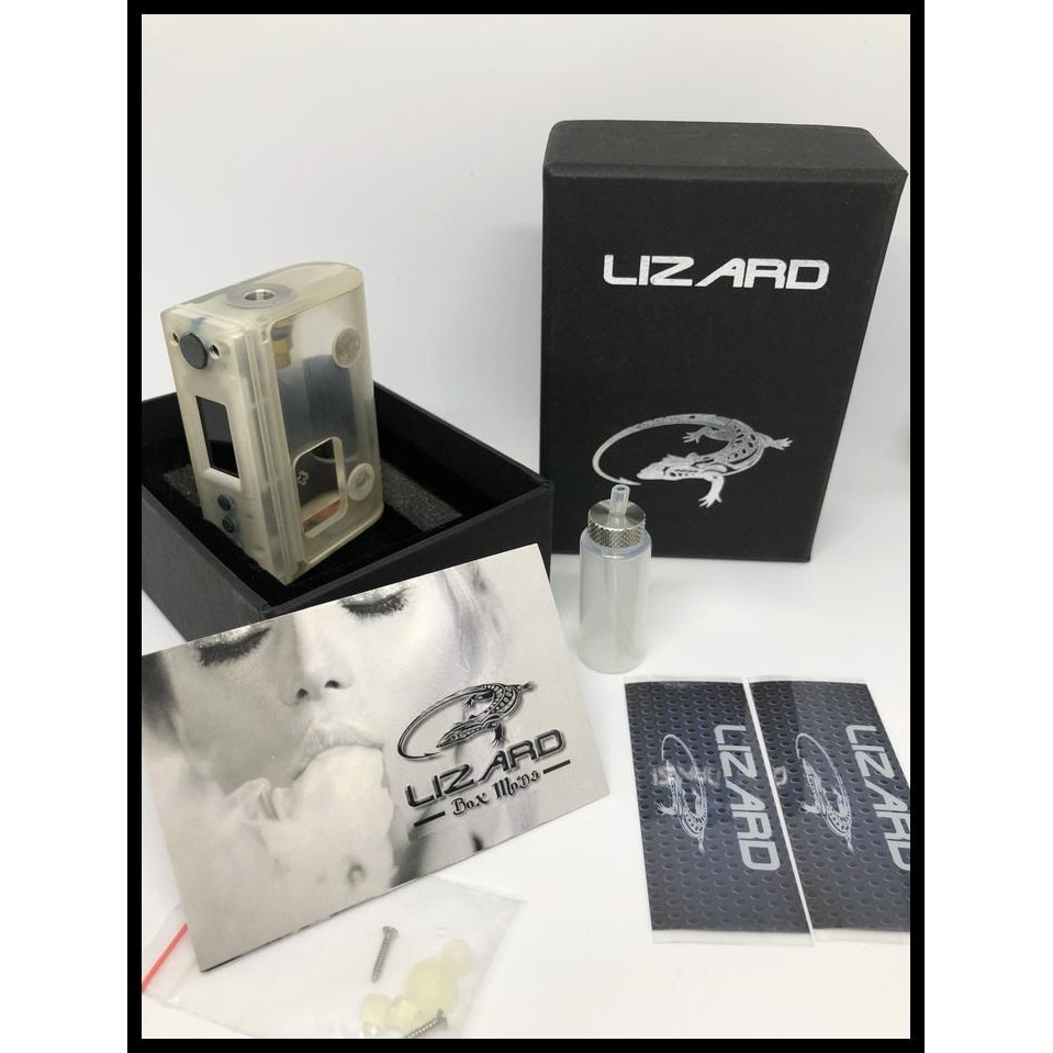 Ready Stok Lizard Komodo Mod Dna 75C Squonk High End Mod Not Stabwood Yihi