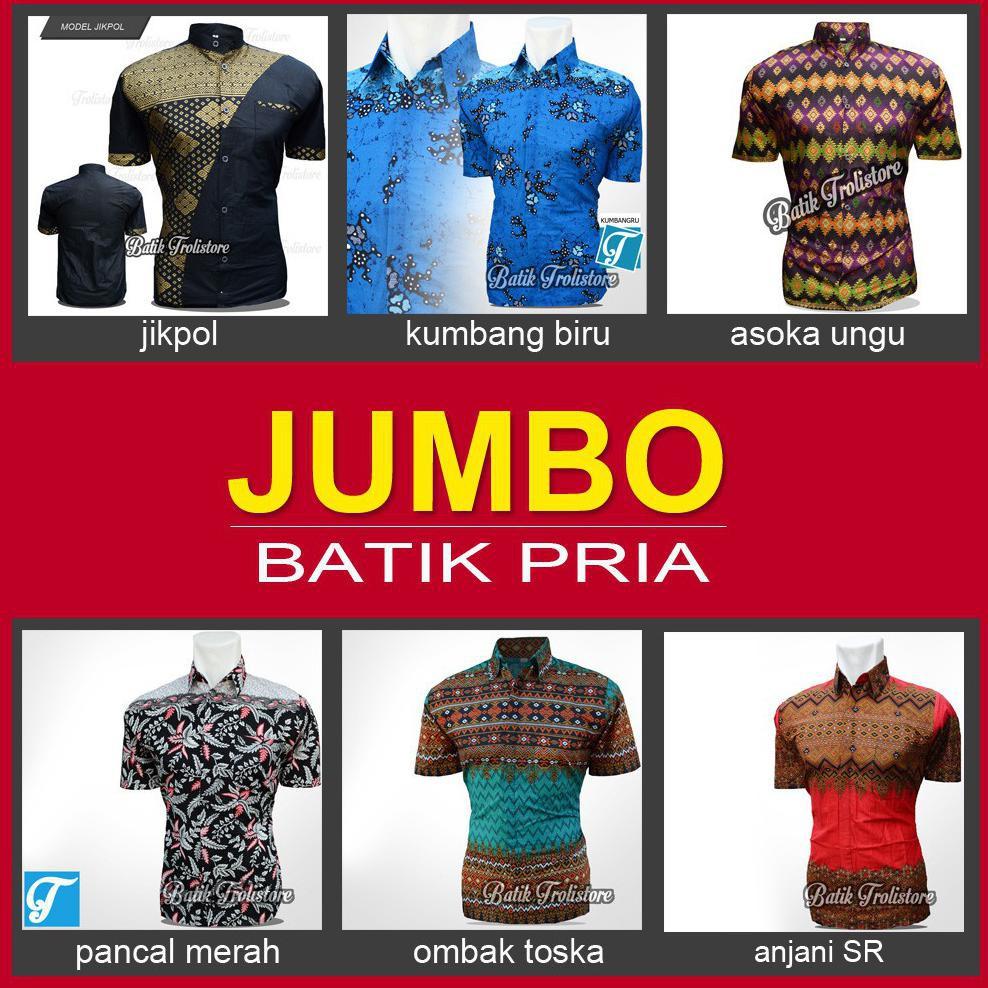 Batik Jumbo Pria C Mlxlxxlxxxlxxxxlxxxxxl Hingga Paling Kemeja Lengan Panjang Baju Hem Cowok Btk140 Besar Ld 130 Cm Shopee Indonesia