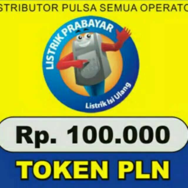 Promo Pulsa Listrik 100 Token Listrik 100 Termurah Bayar Tagihan Pln Bpjs Shopee Indonesia