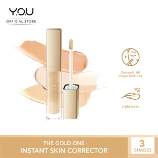 YOU The Gold One Instant Skin Corrector [All-day Light Wear Concealer with Tea Tree Oil]