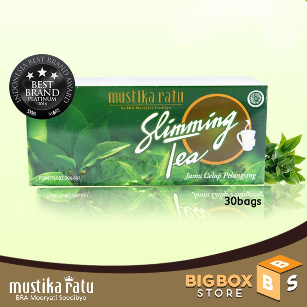 Mustika Ratu Minuman Herbal Slimming Tea Isi 30 Bag Anti Oksidan Dan Teh Pelangsing Slim Sariayu Bags Meningkatkan Kekebalan Tubuh Shopee Indonesia