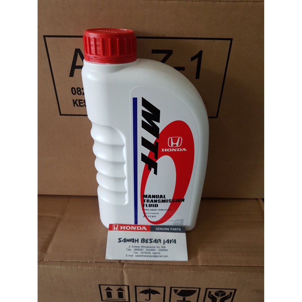 New Oli Transmisi Honda Mtf Manual Transmission Fluid 1 Liter
