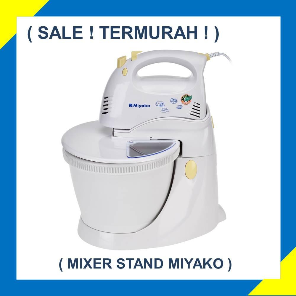 Miyako Sm 625 Hand Stand Mixer Kapasitas 3 5 L Putih Referensi Kirin Ksm386 Pencampur Ready Stock Garansi Panjang