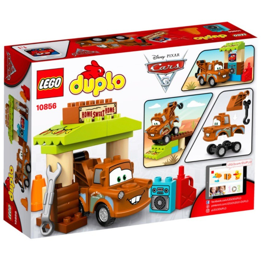 Lego Duplo Brand Cars Maters Shed 10856 Shopee Indonesia