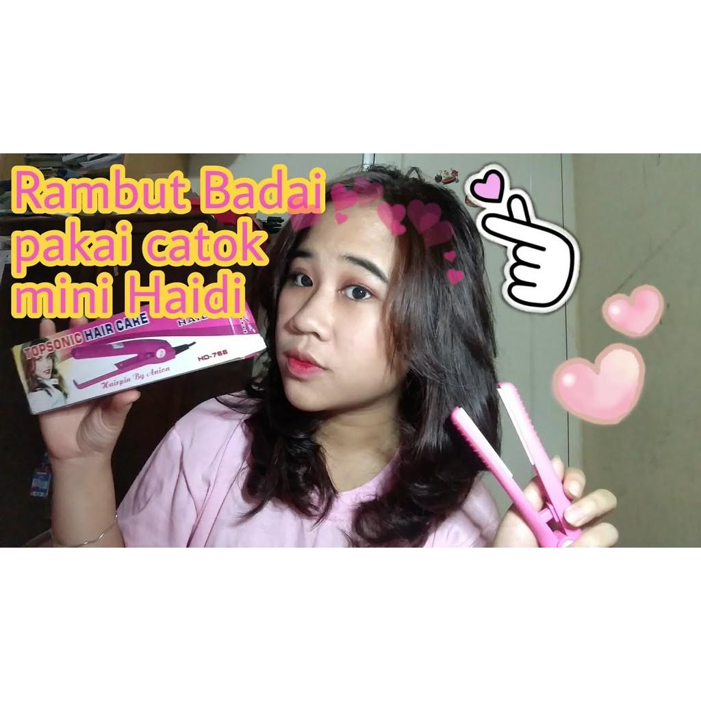 Shopee Indonesia Jual Beli Di Ponsel Dan Online Catok Mini Haidi Topsonic Hair Care Catokan Rambut Simple
