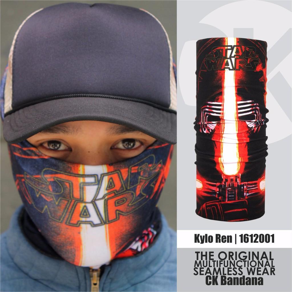 CK Bandana 1607005 Buff Masker Multifungsi Motif Stitch | Shopee Indonesia