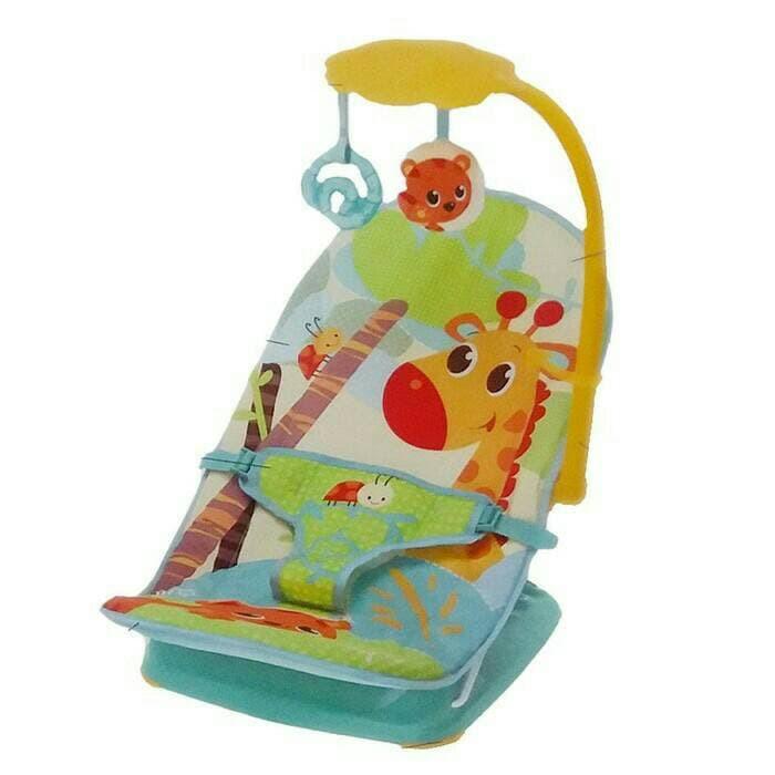 Mastela ORI 100% Mastela Fold Up Infant Seat Baby Bouncer Green MUSIK DAN GETAR FREE BUBBLE WRAP
