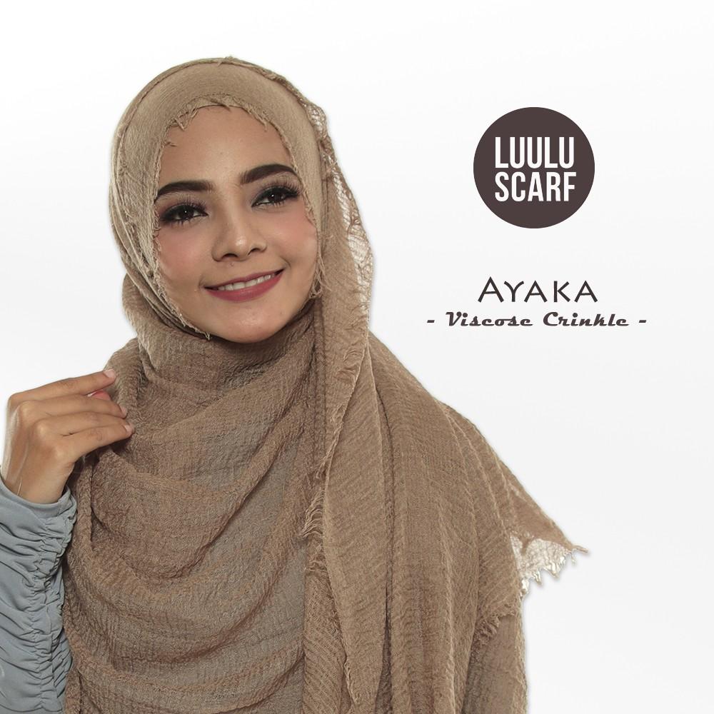 Tutorial Hijab Pashmina Crinkle Untuk Wajah Bulat Hijabfest